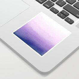 Purple Watercolor Design Sticker