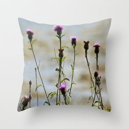 Highland Thistle Throw Pillow