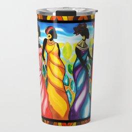 Four Ladies of Belize Travel Mug