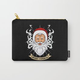 Merry Vapemas - Santa Claus Stopped Smoking Carry-All Pouch