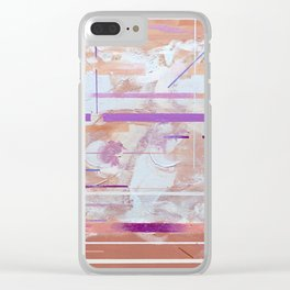 It's Coarse On The Inside Sometimes Clear iPhone Case