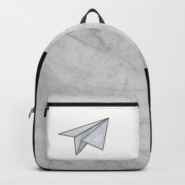 Marbelous plane Backpack
