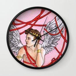 Cupid Boy Wall Clock