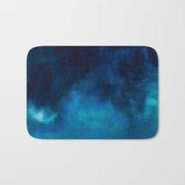 Drift Water Ocean Art Piece Print Bath Mat