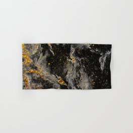 Galaxy (black gold) Hand & Bath Towel