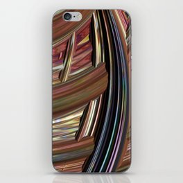 Striped Weave iPhone Skin