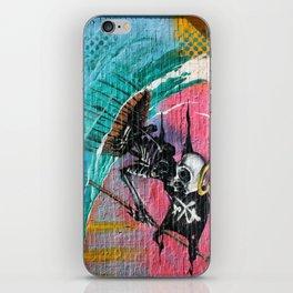 Sailing Skeleton  iPhone Skin