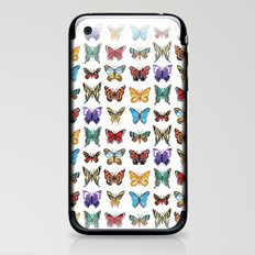 Butterflies (Papillons) iPhone & iPod Skin