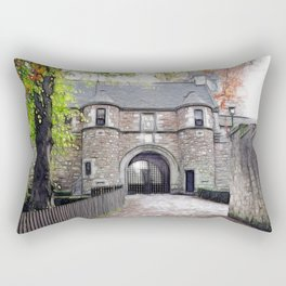 Dean Castle Rectangular Pillow