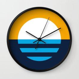 People's Flag of Milwaukee Wall Clock