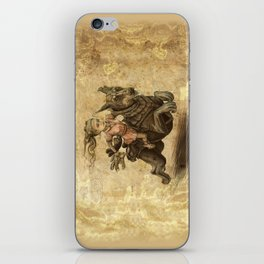 China Girl's adventure iPhone Skin