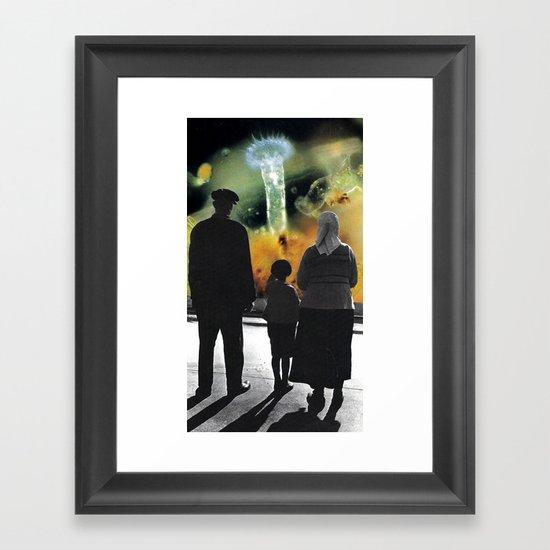 hall... Framed Art Print