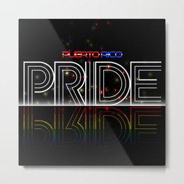 Puerto Rico Pride Bride Metal Print