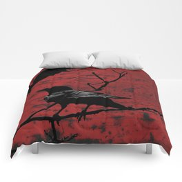 Crow Rust Industrial Red A673 Comforters