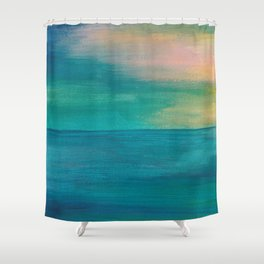 Ocean Sunrise Series, 3 Shower Curtain