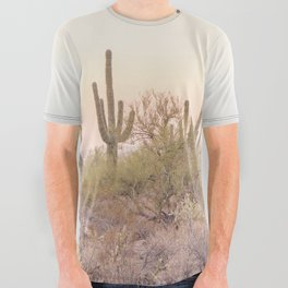 Arizona Desert All Over Graphic Tee