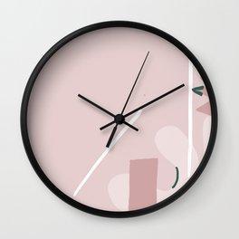 Mid Kitch Wall Clock