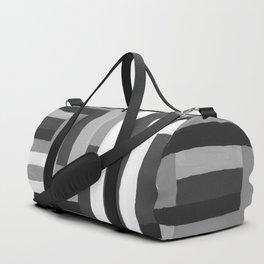Painted Color Blocks Duffle Bag