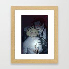 Claude Faustus and Alois Trancy: Poison Trust Framed Art Print