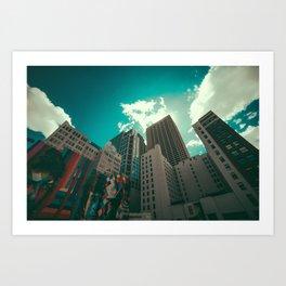 Minneapolis  Art Print