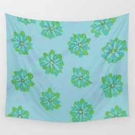 Pistachio Petal Rose Wall Tapestry