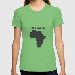 love of europe T-shirt