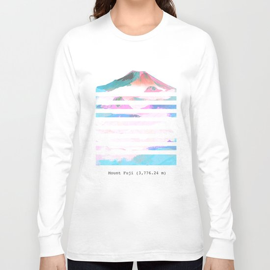 Mount Fuji Long Sleeve T-shirt