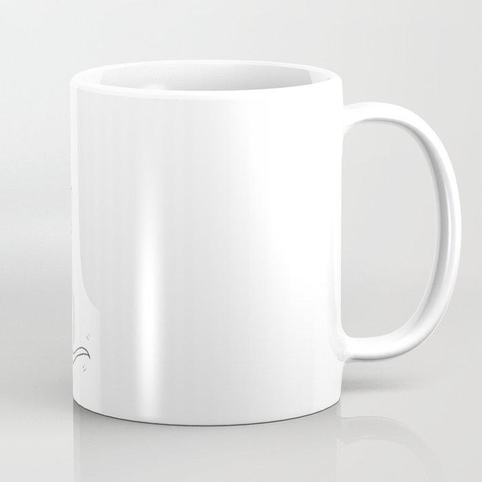 Cat, elephant, and dog friendship trio Coffee Mug