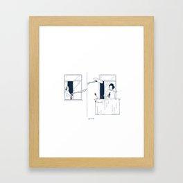 Sound in quarantine Framed Art Print
