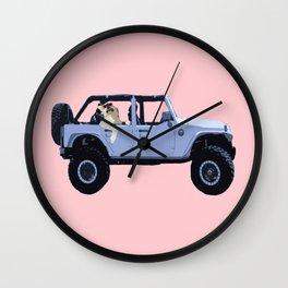 NO SCRUBS Wall Clock