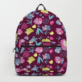 Cute Red Pandas Pattern Backpack