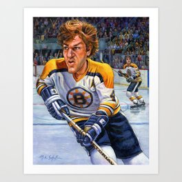 Bobby Orr: Game Changer Art Print