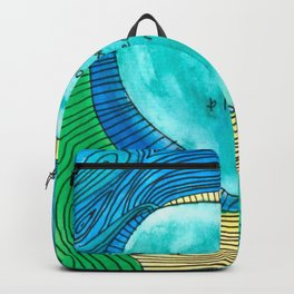 I am strong, powerful, loved, and loving Backpack