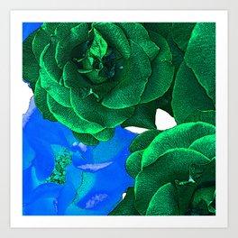 ROSE BLOSSOM Art Print