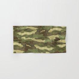 Distressed Camouflage Hand & Bath Towel