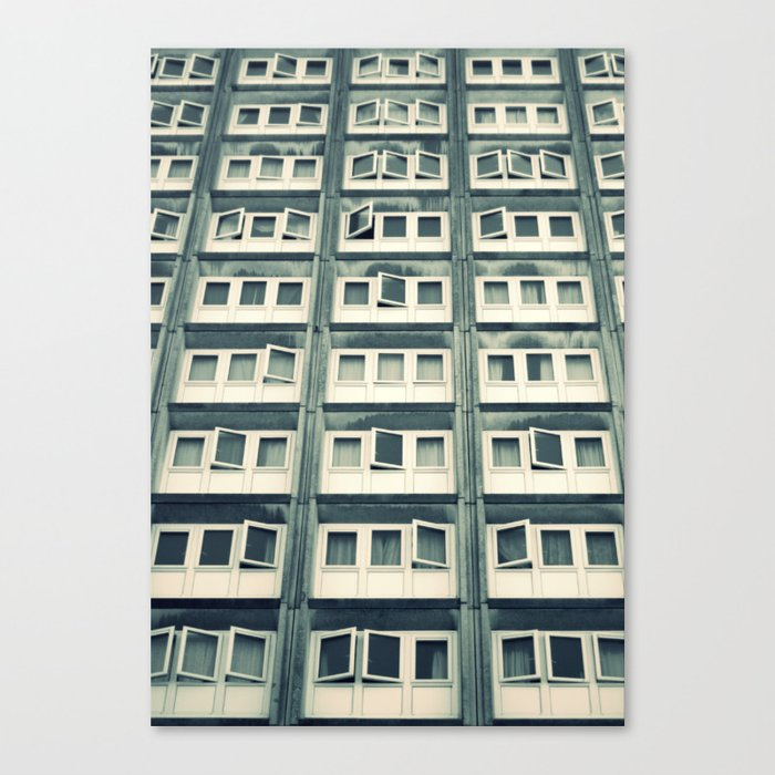 Battery Living Canvas Print