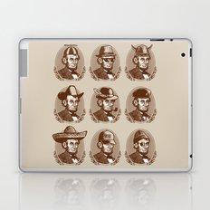Abe Tries on Hats Laptop & iPad Skin