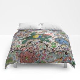 Volcano Lizard Comforters