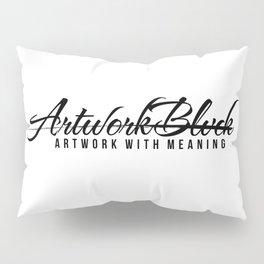 Vrtwork Blvck White Pillow Sham