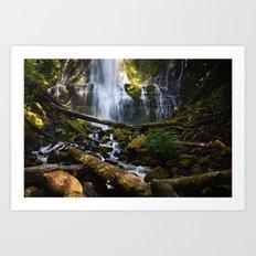 Lower Proxy Falls Art Print