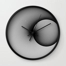 Shady Circles Wall Clock