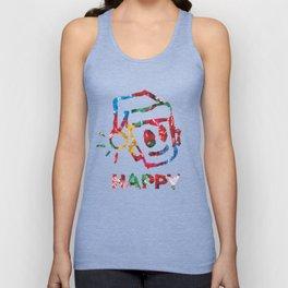 HAPPY CHRISTMAS Unisex Tank Top