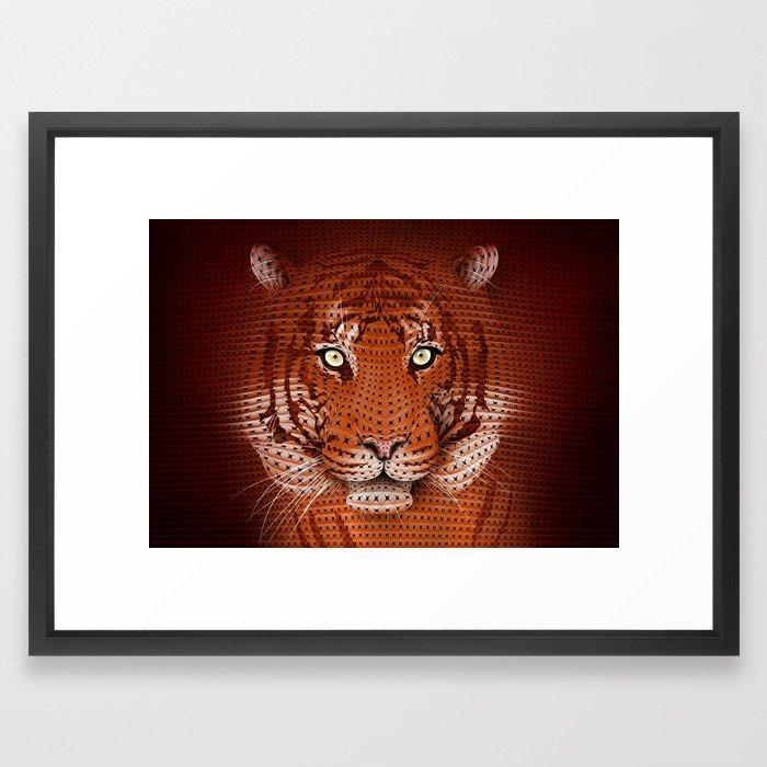 Hide! Framed Art Print