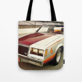 1981 Indianapolis 500 Regal-Grand National Pace car Tote Bag