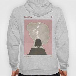 Charlotte Brontë Jane Eyre - Minimalist literary design Hoody