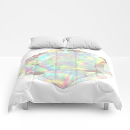 Milky White Opal Comforters