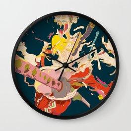 驚者髑髏 - GYOUSYA DOKURO Wall Clock