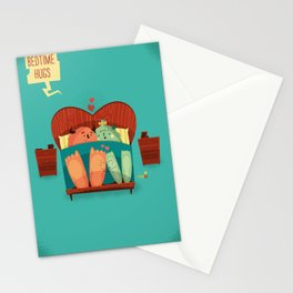:::Bedtime Hugs::: Stationery Cards