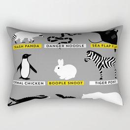 ANIMALS OF THE WORLD Rectangular Pillow