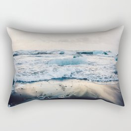 Diamond Beach, Iceland Rectangular Pillow
